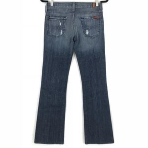 7 For All Mankind Jeans - 7 For All Mankind Bootcut Denim Jeans Women's 26